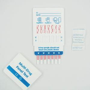 14 Panel Drug Test Dipcard(AMP,BZO,BUP,BAR,COC,MET,MTD,MDMA,OPI,OXY,PCP,PPX,TCA,THC)